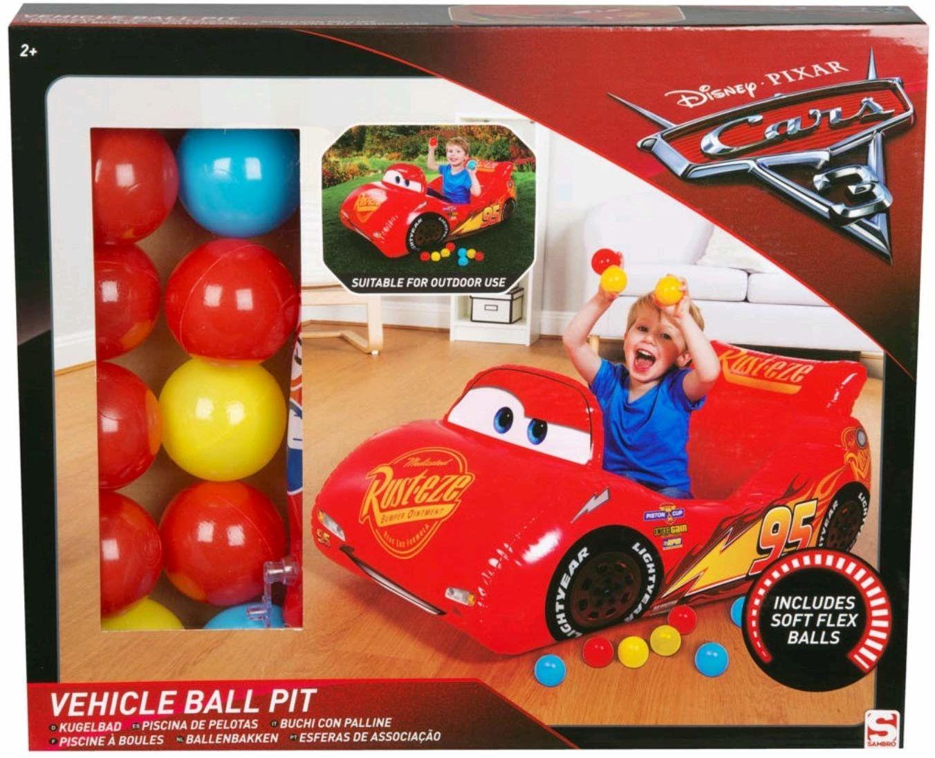 Disney Pixar Cars 3  kąpiel kulowa z 10 piłkami