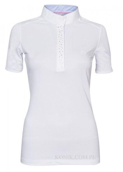 Koszulka konkursowa SASKIA - Schockemohle - white