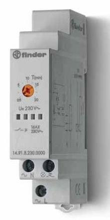 Przekaźnik czasowy automat schodowy Finder 14.91.8.230.0000 Przekaźnik czasowy automat schodowy Finder 14.91.8.230.0000