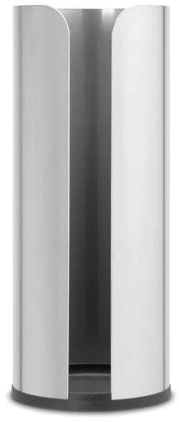 Brabantia - uchwyt na papier toaletowy renew collection - stal matowa - stalowy