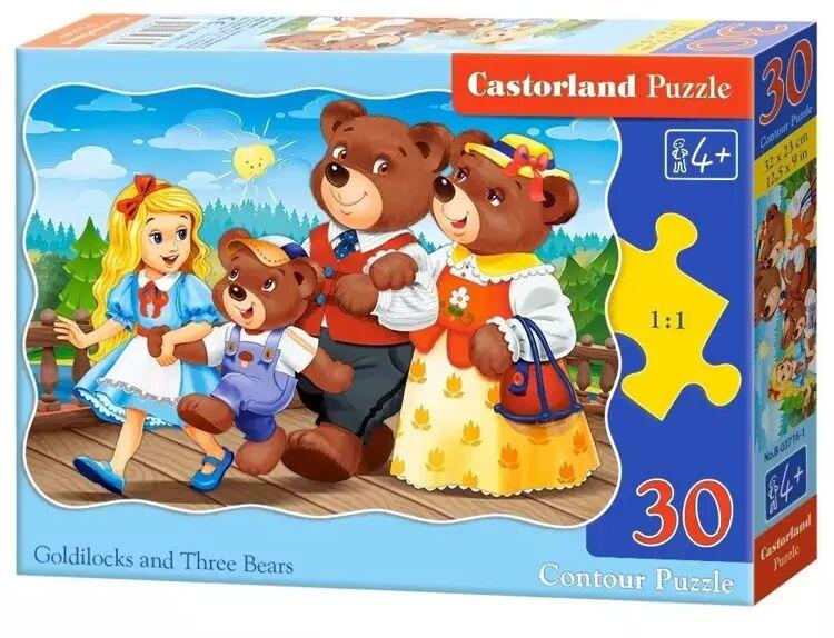Puzzle 30 Goldilocks and Three Bears CASTOR - Castorland