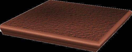 CLOUD DURO ROSA stopnica ryflowana narożna strukturalna 30x30x1,1