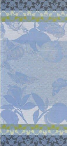 Obrus Jardin de Paradis 175x175 niebieski