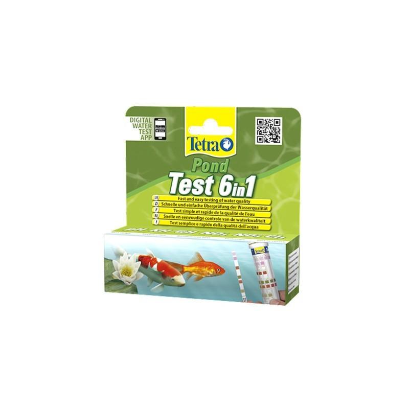 Tetra Pond Test 6in1 /25 pasków