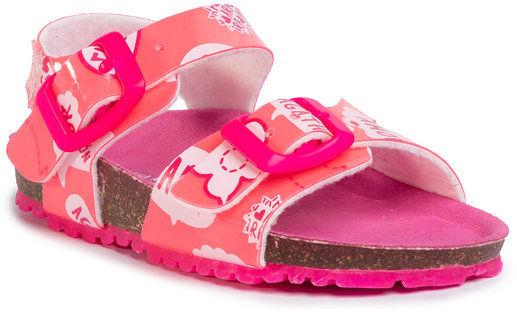Sandały 202987 M Różowy