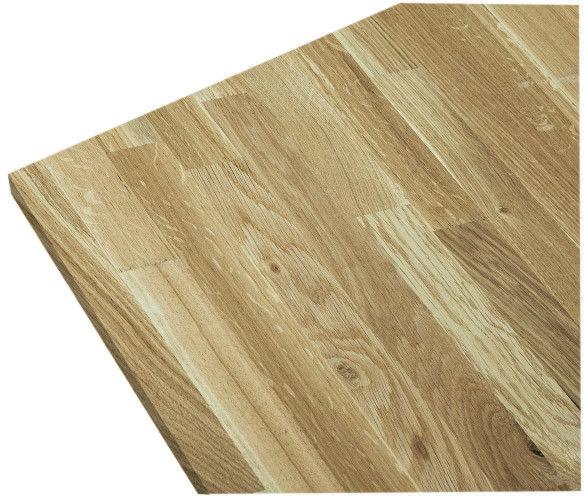Blat drewniany 37 x 600 x 3000 mm dąb