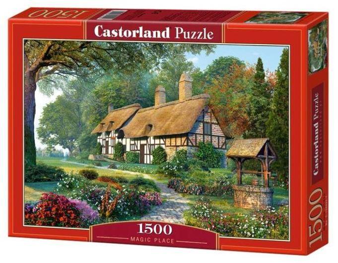 Puzzle 1500 Magiczny krajobraz CASTOR - Castorland