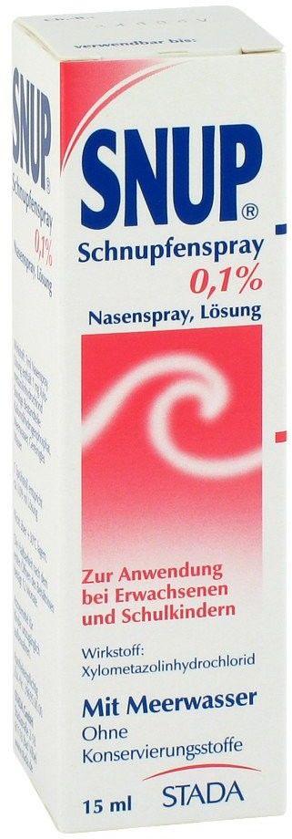 Snup Spray na katar 0,1%