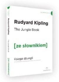 Księga Dżungli w.angielska + słownik A2/B1 - Rudyard Kipling