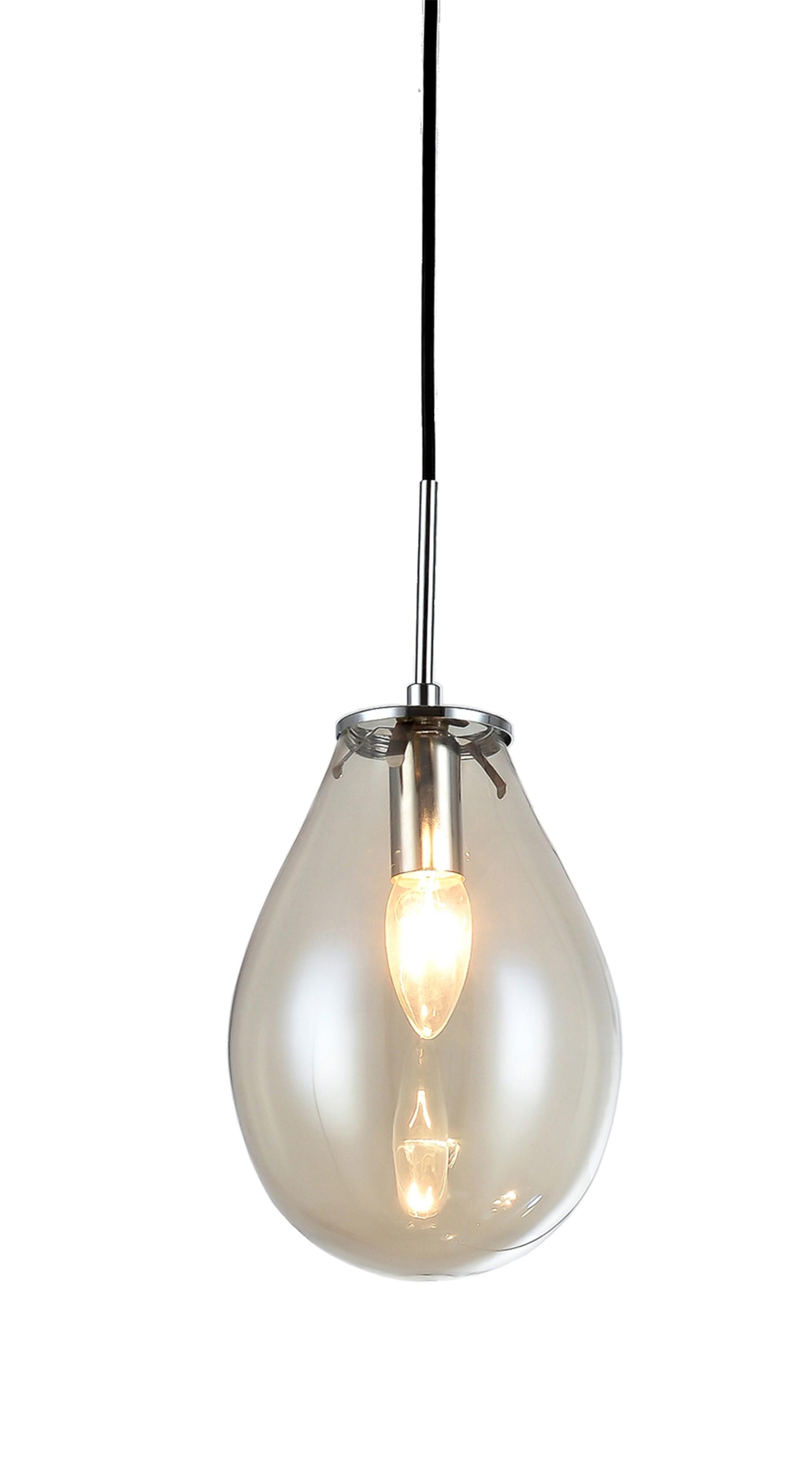 Lampa wisząca Fondi 1 szklana LP-1214/1P - Light Prestige // Rabaty w koszyku i darmowa dostawa od 299zł !