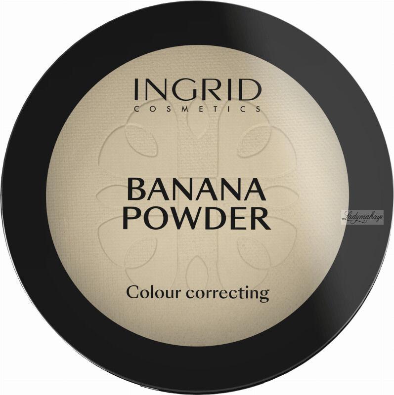 INGRID - BANANA POWDER - - Colour Correcting - Puder bananowy do twarzy