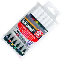 Sakura Pen-Touch Fine Markery 1mm 6 kol