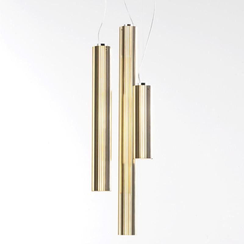 Rifly 90 złoty - Kartell - lampa wisząca