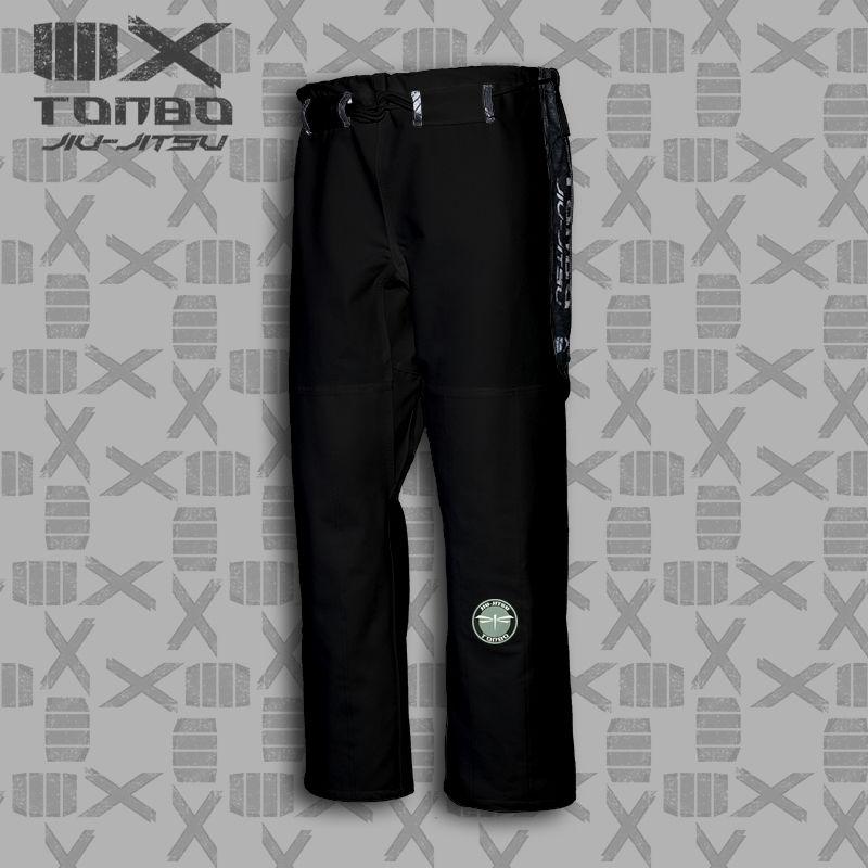spodnie BJJ / Jiu-Jitsu 4X 12oz, czarne (27 rozmiarów)