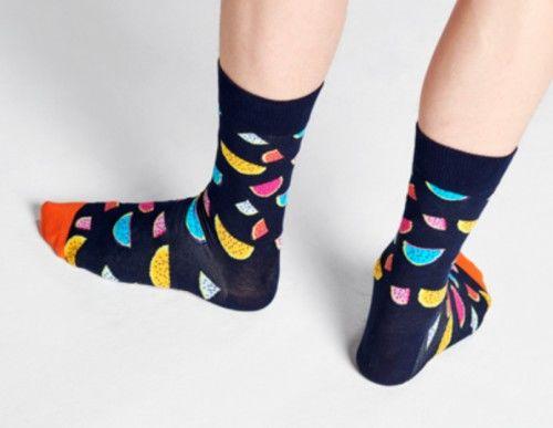 Happy Socks skarpetki WAT01-6500 MELON R.41-46