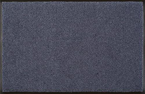 Wycieraczka stalowa niebieska 60 x 90 cm niebieska