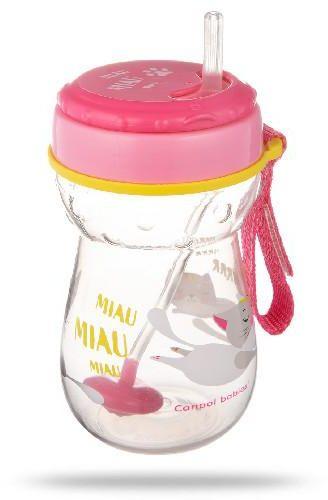 Canpol Babies bidon ze składaną rurką silikonową z odważnikiem 350 ml [56/521]