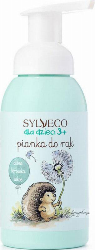 SYLVECO - Dla dzieci 3+ Pianka do rąk - Aloes, borówka, kokos - 290 ml