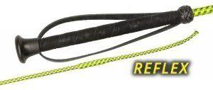 Bat ujeżdżeniowy REFLEX z odblaskami i temblakiem- FLECK