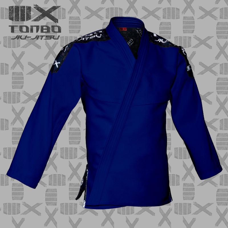 bluza BJJ / Jiu-Jitsu 4X, niebieska, 580g/m2 (27 rozmiarów)