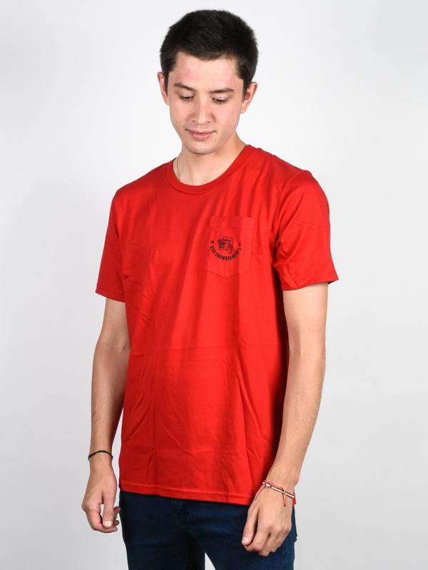 Ride Panther RED koszulka męska - S