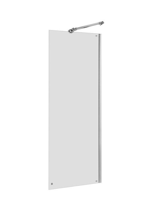 Roca Capital ścianka kabina walk-in 80x195cm przejrzyste AM4408012M