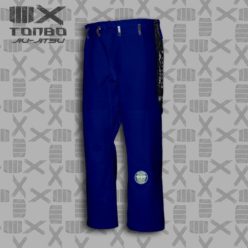 spodnie BJJ / Jiu-Jitsu 4X 12oz, niebieskie (27 rozmiarów)