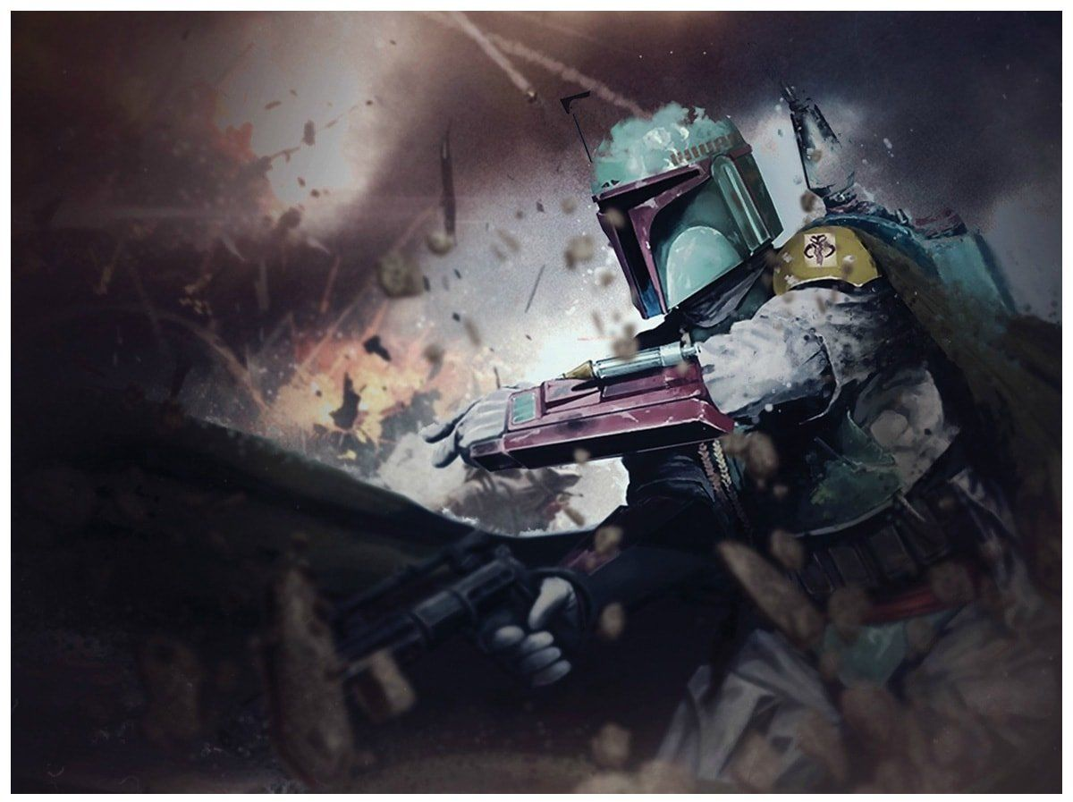 Dekoracyjny opłatek tortowy Star Wars - A4