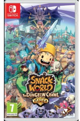 Gra Nintendo Switch Snack World: The Dungeon Crawl - Gold