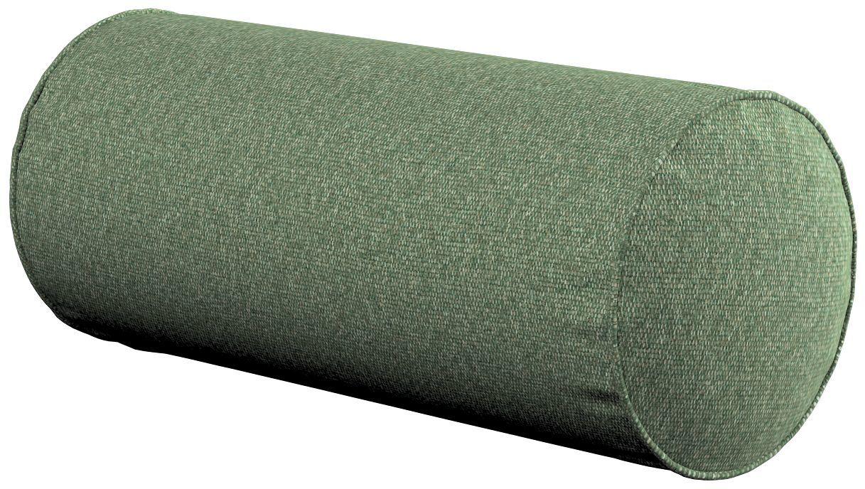 Poduszka wałek prosty, zielony melanż, Ø16  40 cm, Amsterdam