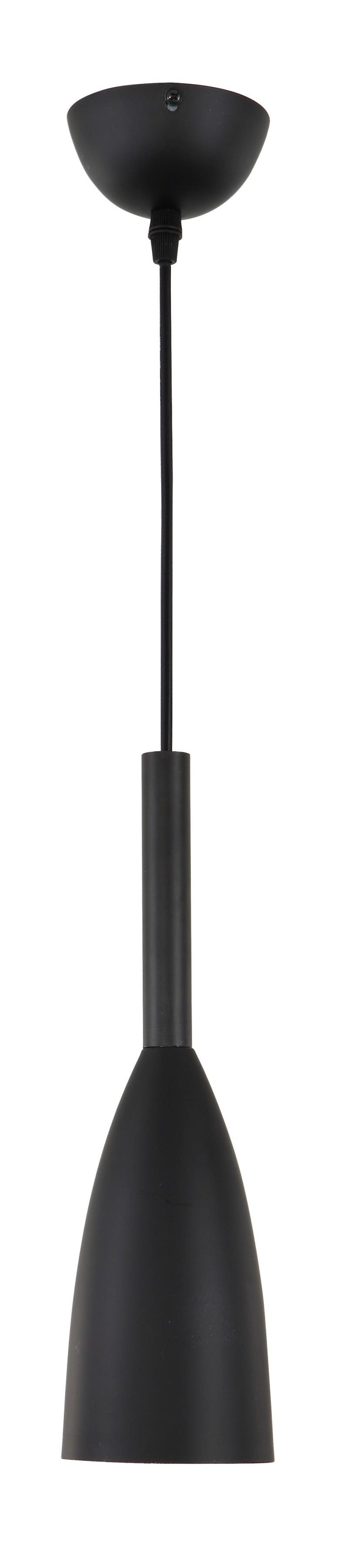 Lampa wisząca Solin czarna LP-181/1P BK - Light Prestige // Rabaty w koszyku i darmowa dostawa od 299zł !