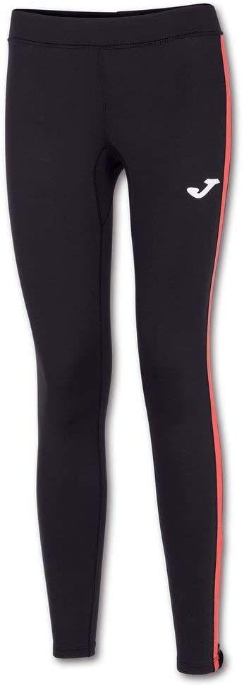 Joma Combi Basic długie spodnie sportowe dla kobiet S czarny koralowy