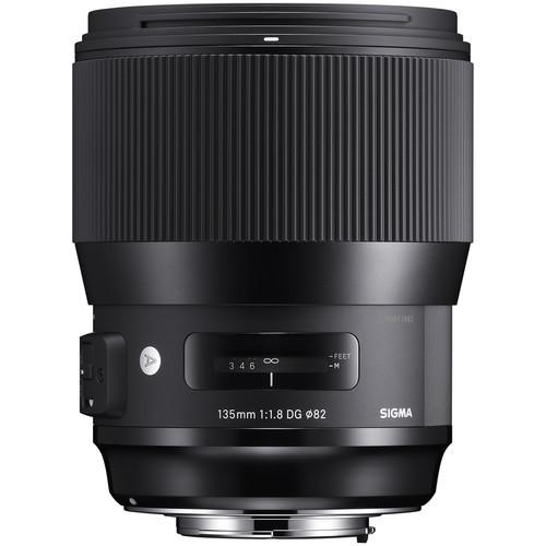 Sigma A 135mm f/1.8 DG HSM - obiektyw stałoogniskowy do Canon EF Sigma A 135mm f/1.8 DG HSM / Canon EF