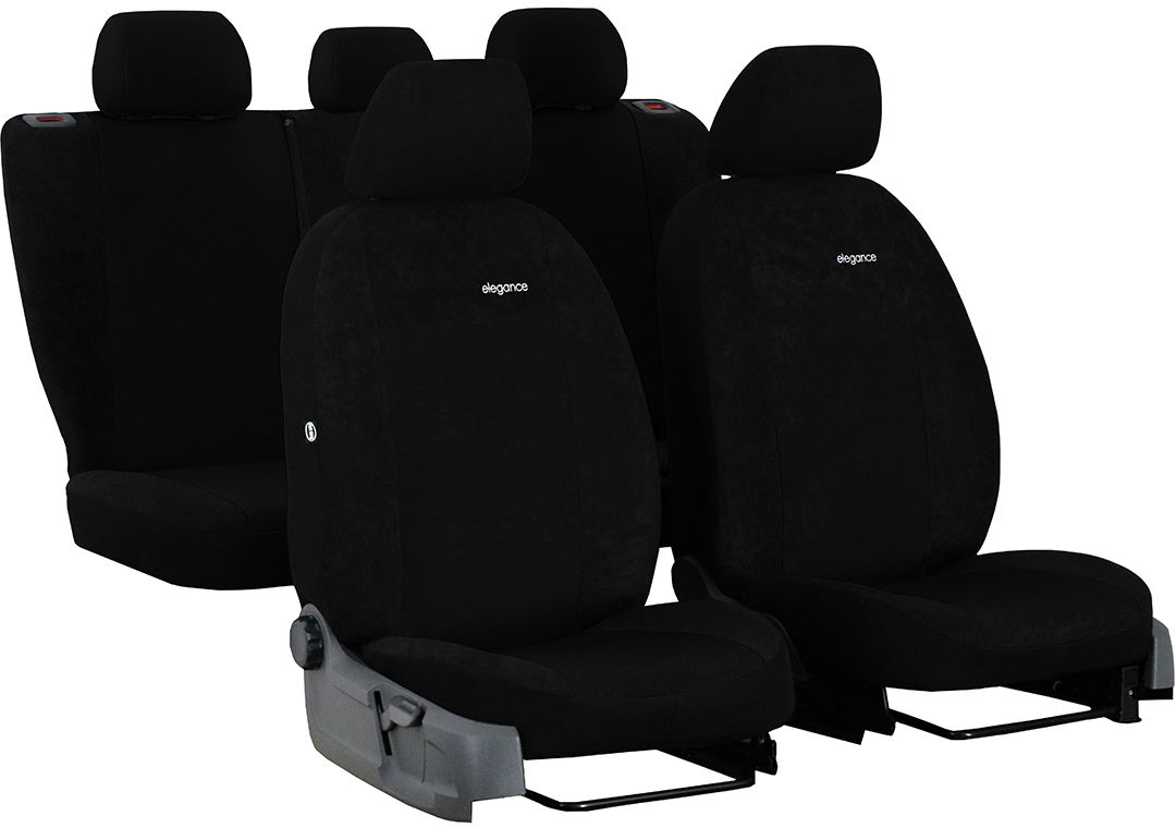 Pokrowce samochodowe do Ford Fusion van, Elegance, kolor czarny