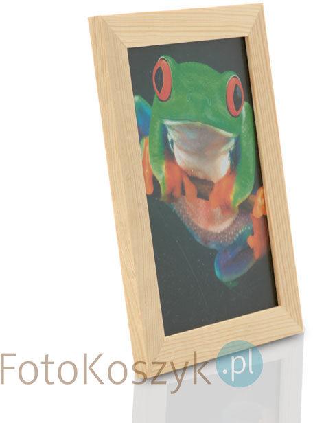 Ramka drewniana sosna FR (na zdjęcie 13x18 cm)