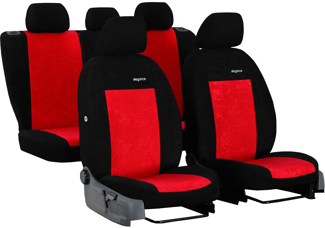 Pokrowce samochodowe do Ford Fusion van, Elegance, kolor czerwony