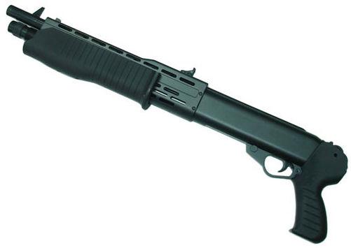 Strzelba SHOTGUN ASG na Kule Plastikowe, Gumowe, Kompozytowe i Aluminiowe 6mm (napęd sprężynowy).