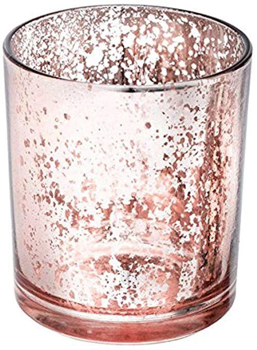 CLUB zielone szkło MED.Rose świecznik 70 x 90 mm, kwarc, 22 x 15 x 9 cm