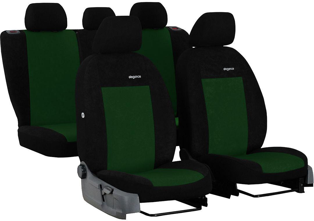 Pokrowce samochodowe do Ford Fusion van, Elegance, kolor zielony