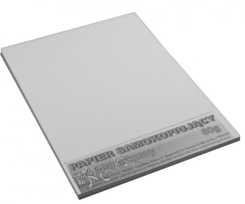 Papier samokopiujący biały A4 2870-PS A4 2870-PS A4-100, Ilość arkuszy: 100 arkuszy