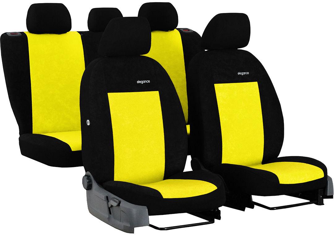 Pokrowce samochodowe do Ford Fusion van, Elegance, kolor żółty