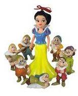Disney Princess 5064764 mini Królewna Śnieżka + 7 krasnalów