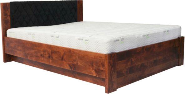 Łóżko MALMO PLUS EKODOM drewniane, Rozmiar: 180x200, Kolor wybarwienia: Miodowy Darmowa dostawa, Wiele produktów dostępnych od ręki!