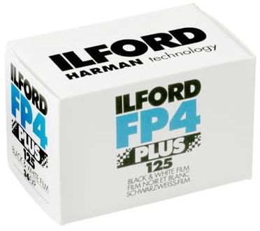 Ilford fp4 125/135/36