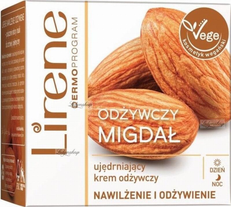 Lirene - Odżywczy Migdał - Ujędrniający krem do twarzy na dzień i na noc - Wegański - 50 ml