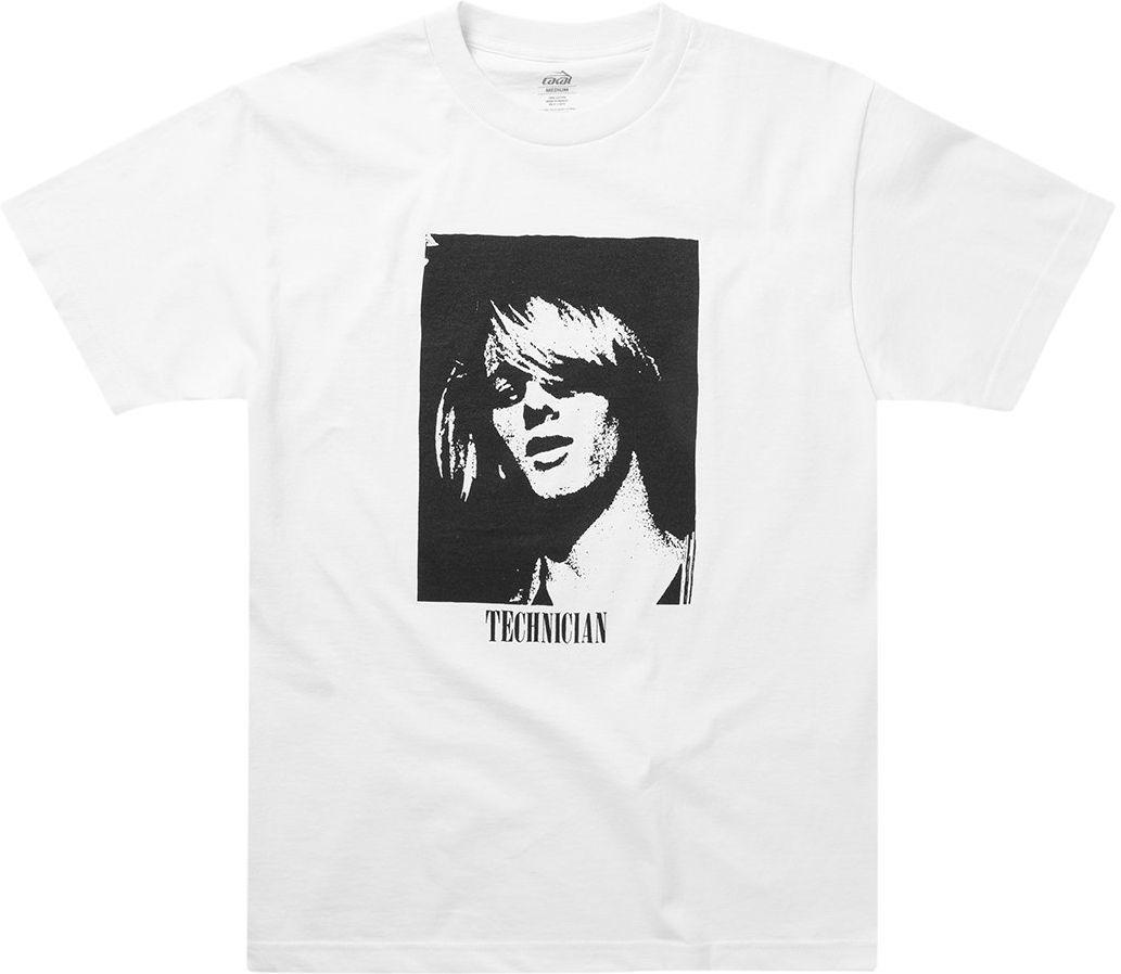 t-shirt męski LAKAI TECHNICIAN TEE White