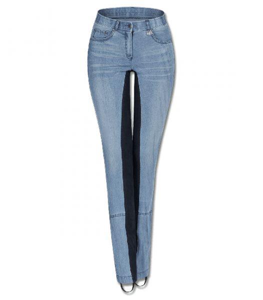 Bryczesy JODHPUR ELT Harmony Jeans damskie - blue/night blue