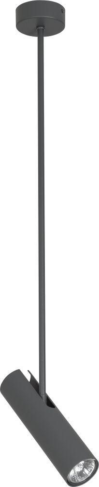 Lampa wisząca Eye Super B 6496 Nowodvorski Lighting grafitowa ruchoma oprawa sufitowa w nowoczesnym stylu