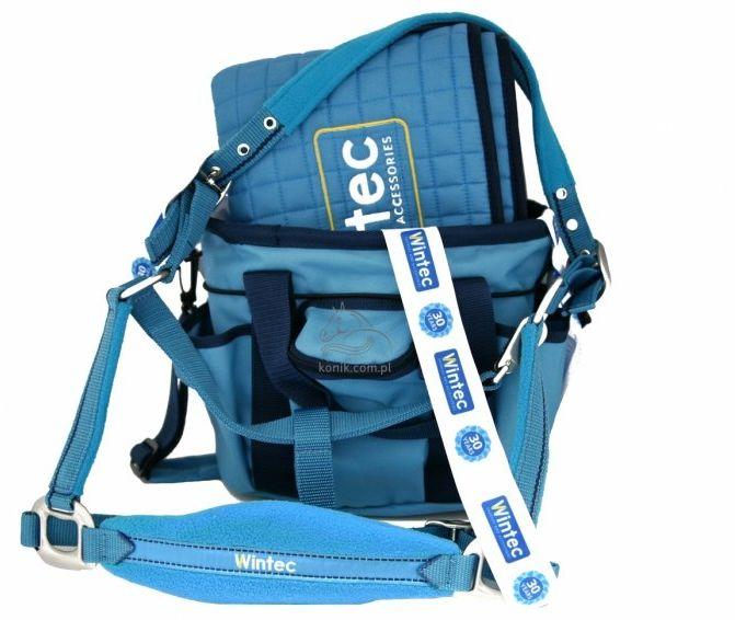 Zestaw kantar + uwiąz + torba na szczotki + potnik - WINTEC