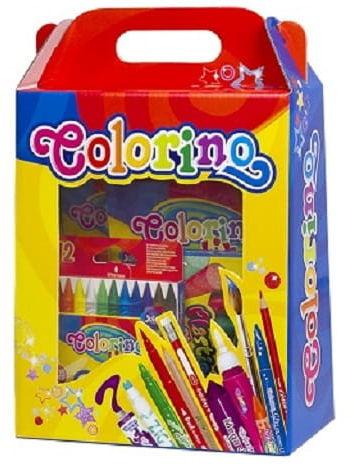 Zestaw plastyczny Colorino kredki flamastry wyprawka szkolna